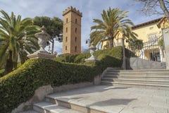Hospitalet de Llobregat,卡塔龙尼亚,西班牙 库存图片