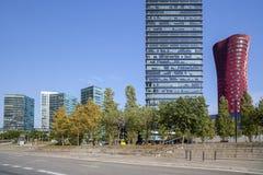 Hospitalet de Llobregat, Καταλωνία, Ισπανία Στοκ φωτογραφία με δικαίωμα ελεύθερης χρήσης