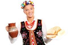 Hospitalidad polaca Imágenes de archivo libres de regalías