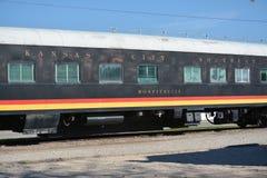 Hospitalidade do sul de Kansas City do trem velho Imagem de Stock Royalty Free