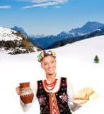 Hospitalidade polonesa Fotos de Stock Royalty Free