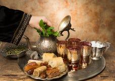 Hospitalidade árabe Imagem de Stock Royalty Free