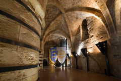 The Hospitaller Fortress in Akko Royalty Free Stock Photo