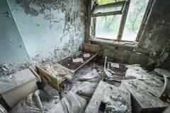 Hosptal dans Pripyat Photo stock