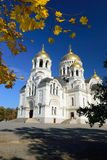 Host Ascension Cathedral. Novocherkassk at the autumn. Russia. Royalty Free Stock Photography