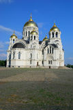 Host Ascension Cathedral. Novocherkassk. Russia. Stock Image
