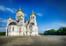 Host Ascension Cathedral. Novocherkassk. Russia. Stock Photography
