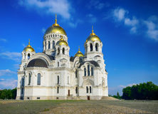Host Ascension Cathedral. Novocherkassk. Russia. Stock Photo