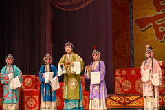 "Host family meetings- Beijing Opera"" Women Generals of Yang Family"" Stock Photo"