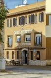 Hostal - La Diligencia del ristorante, a Cunit Spagna Immagine Stock Libera da Diritti