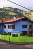 Hostal Residencia Princesa Maria in Banos, Ecuador Royalty-vrije Stock Afbeeldingen