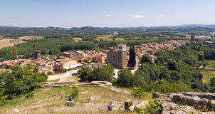 Hostalrich, Girona Spain Royalty Free Stock Photo