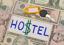 Hostel as alternative to expensive hotels Stock Photography