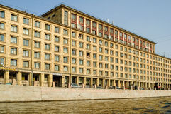 Hostel of construction university. Saint-Petersburg Royalty Free Stock Photography