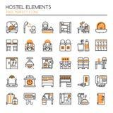 Hostel Elements Royalty Free Stock Photo
