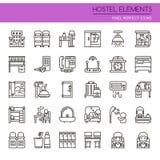 Hostel Elements Stock Photo