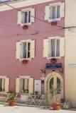 Hostel in Fazana Stock Photo