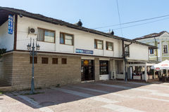 Hostel in the historic part of Lovech, Bulgaria royalty free stock photos