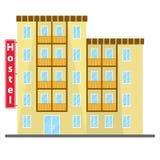 Hostel, hostel icon, hotel Royalty Free Stock Image