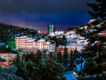Hostel in Navacerrada Royalty Free Stock Photo