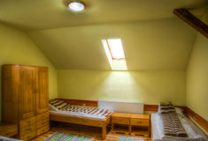 Hostel Room Stock Image