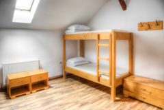 Hostel Room Stock Image