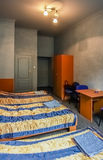 Hostel room. Royalty Free Stock Photography