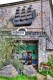 Hostel. San Vicente de la Barquera. Stock Photos