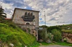 Hostel. San Vicente de la Barquera Royalty Free Stock Images