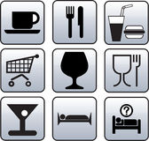Hostelry, Alimentation symbol Royalty Free Stock Image
