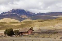 Hosteria Tambopaxi -在科托帕克西国家公园里面的唯一的旅馆在厄瓜多尔 图库摄影