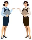hostess ilustracja wektor