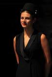 Hostess at amsterdam fashion week Stock Photos