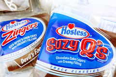 Hostess Brand Products Stock Image