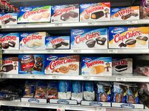 Hostess Desserts At A Grocery Store Editorial Image - Image