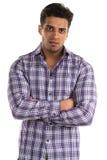 Hostile man Stock Image