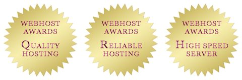 Hosting awards Royalty Free Stock Image