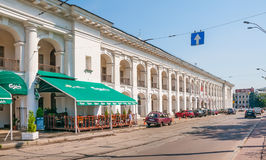 Hostynnyi Dvir in Kiev Royalty Free Stock Images