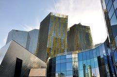 Hotéis de Las Vegas Fotografia de Stock