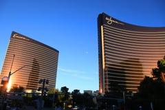 Hotéis de Wynn e de encore Fotografia de Stock Royalty Free