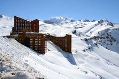 Valle Nevado no Chile imagens de stock