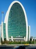 Hotéis do mundo da elite, a construção oval da forma em Istambul, Turquia fotografia de stock