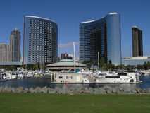Hotéis duplos San Diego Imagens de Stock