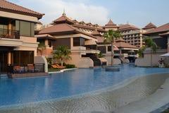 Hotéis em Dubai fotos de stock