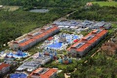 Hotéis em Punta Cana República Dominicana imagem de stock