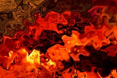 Hot abstract Stock Photo