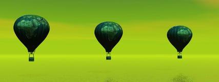 Hot-air μπαλόνι Στοκ Εικόνες