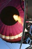 Hot air. Ballooning - Burner blast Stock Photography
