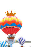 Hot air ball ornament Royalty Free Stock Photos