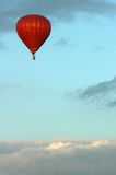 Hot air ballon. On the sky Stock Images